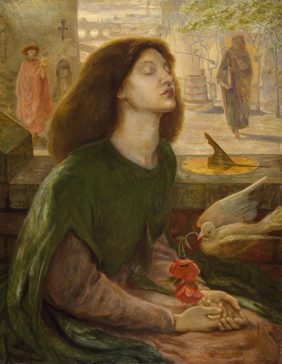 BEATA BEATRIX - Dante Gabriel Rossetti (1872)
